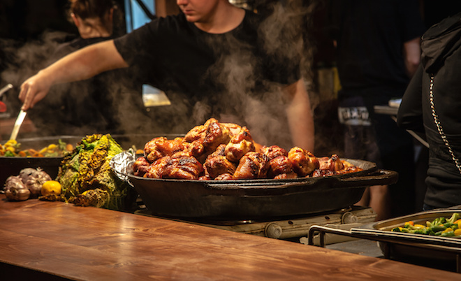 Soho restaurant scene